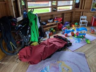 Finnish campground's children's play room